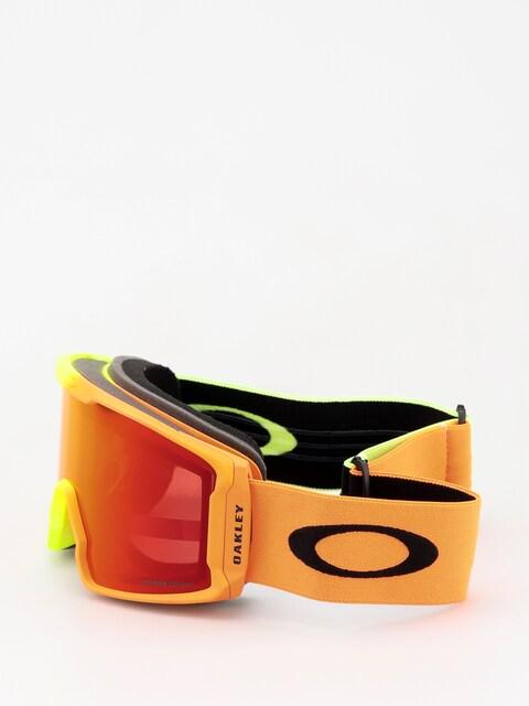 Brýle na snowboard Oakley Line Miner (2018 team oakley/prizm snow torch iridium)