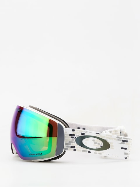 Brýle na snowboard Oakley Flight Deck Xm (lv sig snowed in stealth/prizm snow jade iridium)