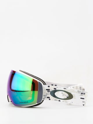 Bru00fdle na snowboard Oakley Flight Deck Xm (lv sig snowed in stealth/prizm snow jade iridium)