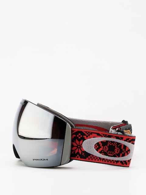 Brýle na snowboard Oakley Flight Deck (shred bots iron rose/prizm snow black iridium)