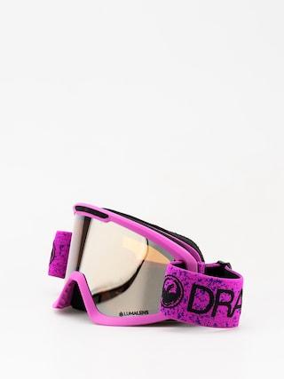 Brýle na snowboard Dragon DX2 (violet/lumalens silver ion/dark smoke)