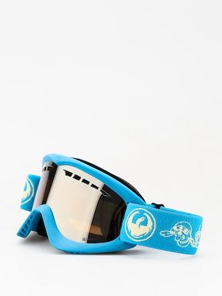 Brýle na snowboard Dragon DX (skully/lumalens silver ion)