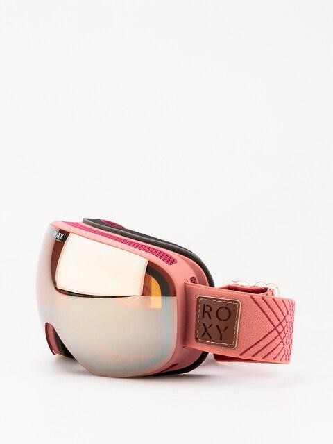 Brýle na snowboard Roxy Popscreen Wmn (dusty cedar)