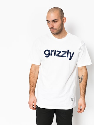 Tričko Grizzly Griptape Lowercase Tee (white)