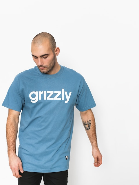 Tričko Grizzly Griptape Lowercase Tee (royal)