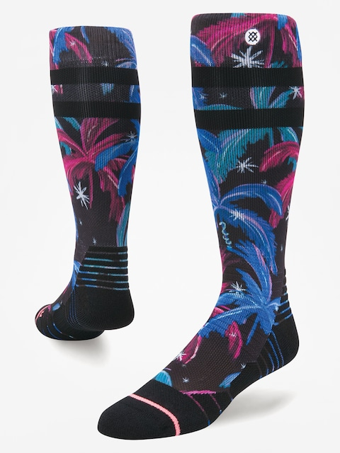 Ponožky Stance Galactic Palms (black)