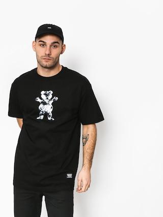 Tričko Grizzly Griptape Storm Front Og Bear (black)