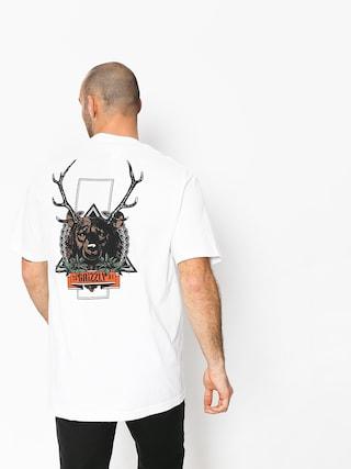 Tričko Grizzly Griptape Fear The Deer (white)