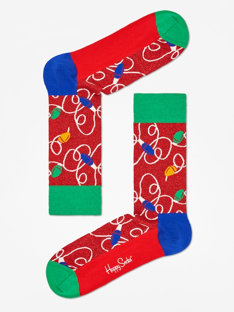 Ponožky Happy Socks Holiday  Lights (red/green/blue)