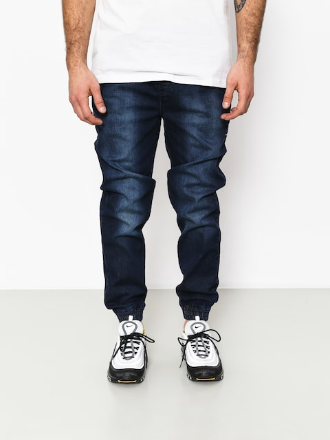 Kalhoty Stoprocent Classic Jeans Joggers (dark blue)