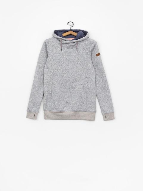 Mikina s kapucí Roxy Dispy HD Wmn (warm heather grey)