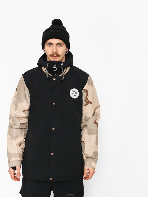 Snowboardová bunda DC Dcla (incense dcu camo men)