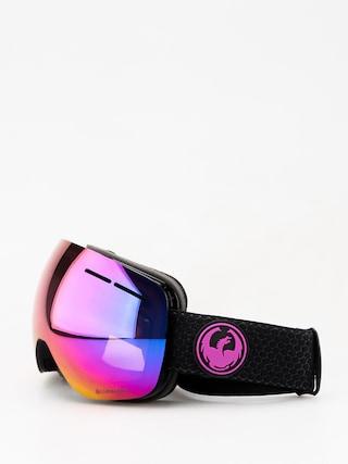 Bru00fdle na snowboard Dragon X1s (split/lumalens purple ion/lumalens amber)