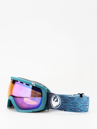 Bru00fdle na snowboard Dragon Rogue (midnight/lumalens blue ion/lumalens amber)