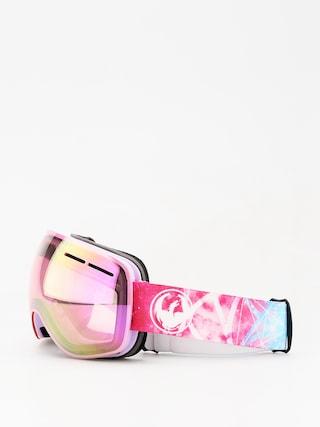 Brýle na snowboard Dragon X1s (galaxy/lumalens pink ion/dark smoke)