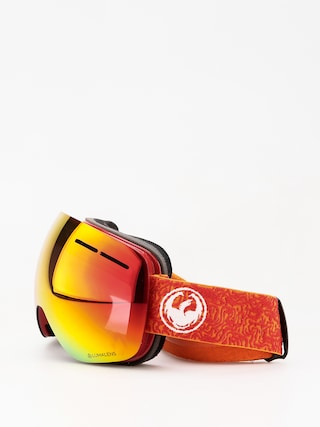 Brýle na snowboard Dragon X1s (maze/lumalens red ion/lumalens rose)