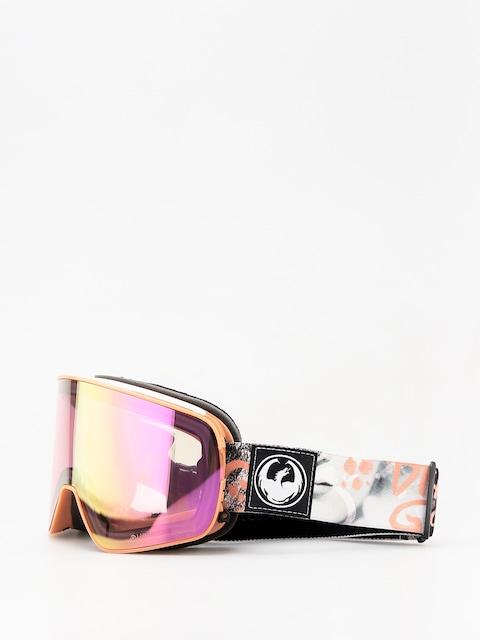 Brýle na snowboard Dragon NFX2 (flaunt/lumalens pink ion/dark smoke)