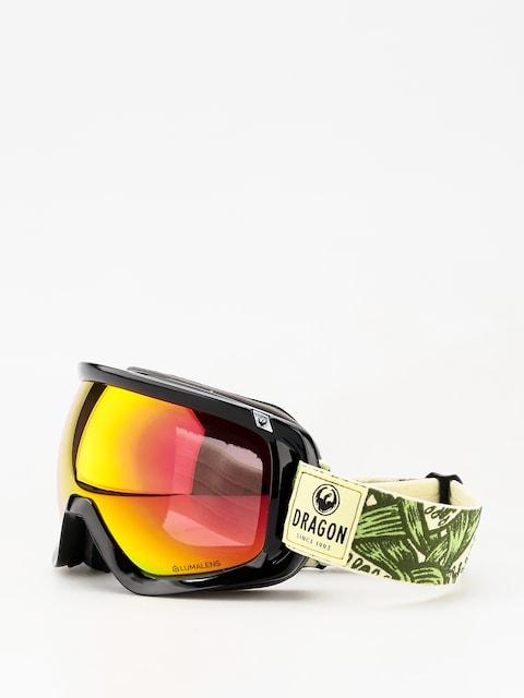 Brýle na snowboard Dragon D3 (plex/lumalens red ion/lumalens amber)