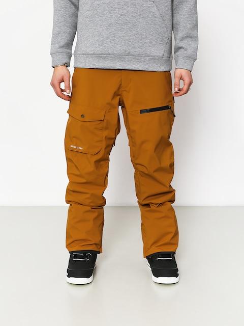Snowboardové kalhoty  Quiksilver Utility (golden brown)