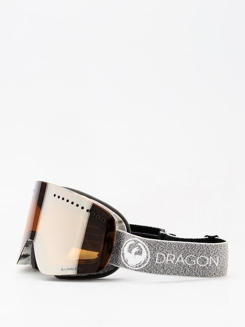 Brýle na snowboard Dragon NFX (mill/lumalnes silver ion/dark smoke)