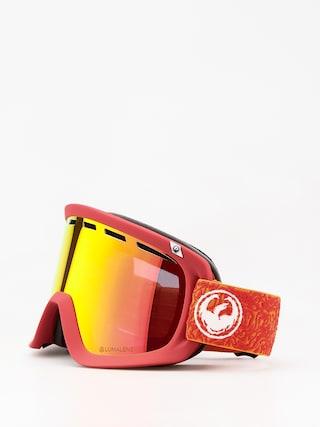 Bru00fdle na snowboard Dragon D1 (maze/lumalens red ion/lumalens rose)