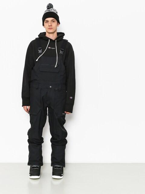 Snowboardové kalhoty  Volcom Roan Bib Overall (blk)