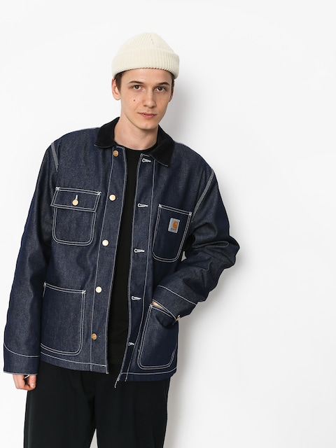 Bunda Carhartt WIP Michigan Chore Coat (blue rigid)