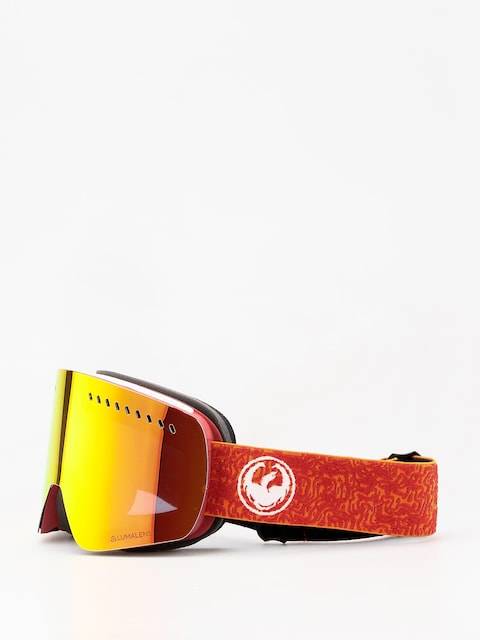 Brýle na snowboard Dragon NFXs (maze/lumalens red ion/lumalens rose)