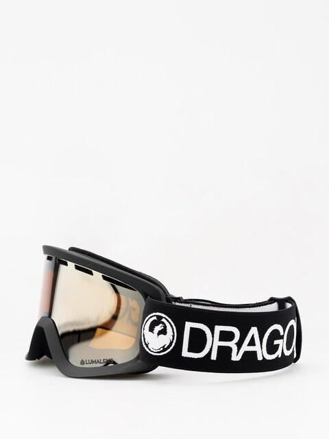 Dětské brýle na snowboard Dragon  Lil D (black/lumalens silver ion)