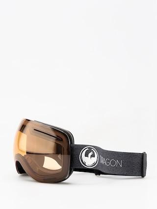 Bru00fdle na snowboard Dragon X1 (echo/photochromic amber)