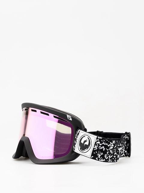 Brýle na snowboard Dragon D1 (scribe/lumalens pink ion/dark smoke)