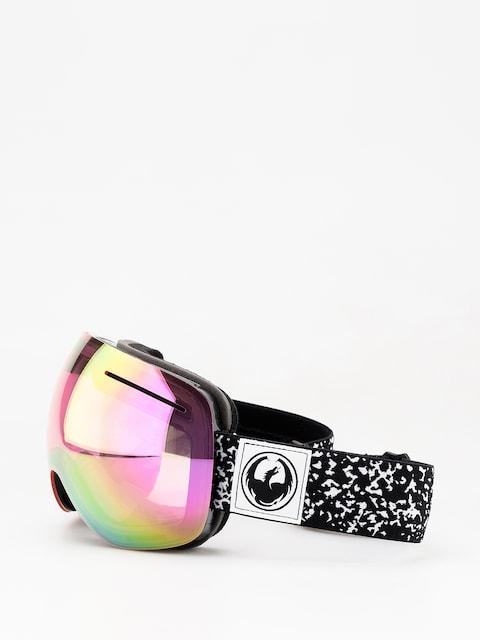Brýle na snowboard Dragon X1 (scribe/lumalens pink ion/dark smoke)