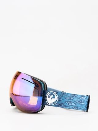 Brýle na snowboard Dragon X1 (midnight/lumalens blue ion/lumalens amber)