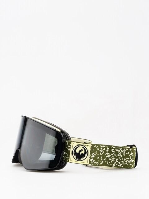 Brýle na snowboard Dragon NFX2 (scribe/dark smoke/lumalens flash blue/lumalens rose)