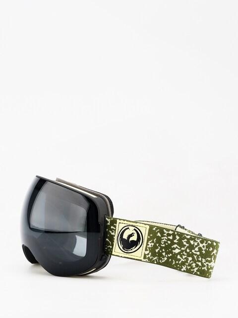 Brýle na snowboard Dragon X2 (scribe/dark smoke/lumalens flash blue/lumalens rose)