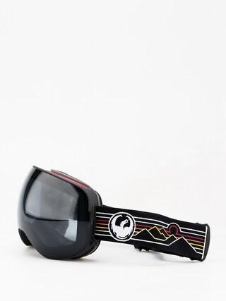 Brýle na snowboard Dragon X2 (skyline/dark smoke/lumalens pink ion)