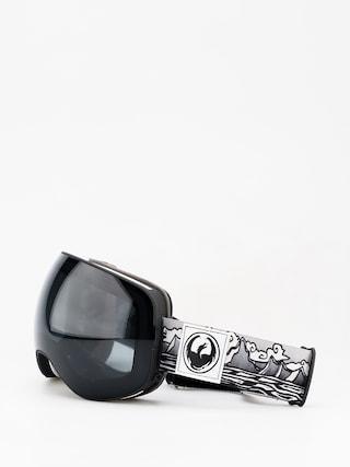 Brýle na snowboard Dragon X2 (iguchi sig/dark smoke/lumalens rose)