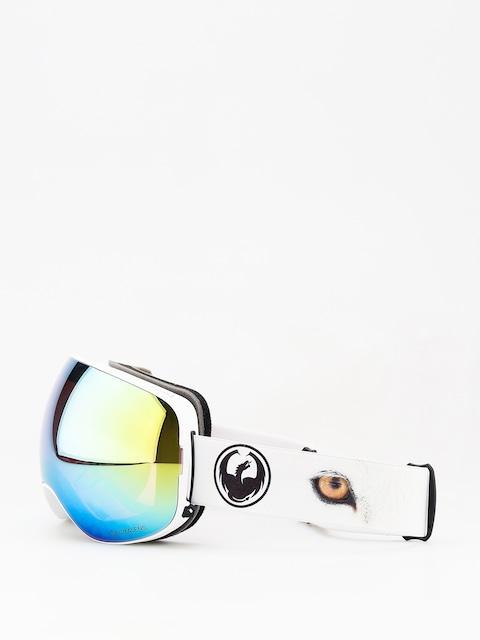 Brýle na snowboard Dragon X2 (prey/lumalens gold ion/dark smoke)
