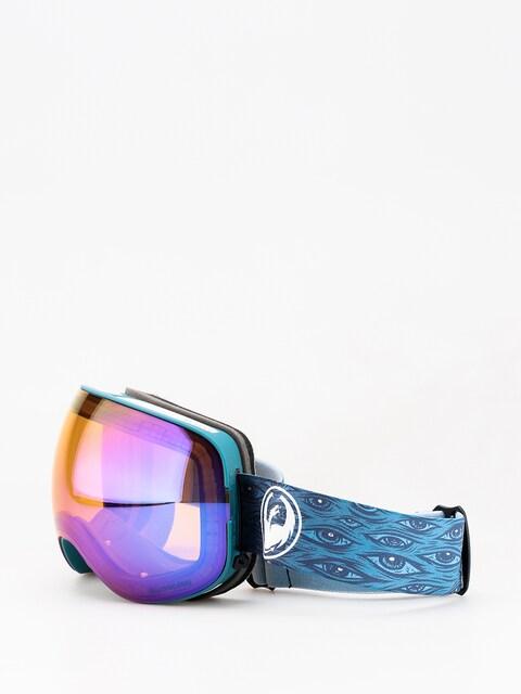 Brýle na snowboard Dragon X2 (midnight/lumalens blue ion/lumalens amber)