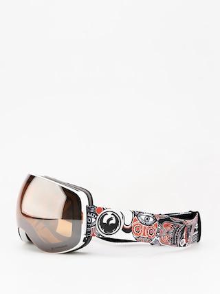 Brýle na snowboard Dragon X2 (faction/lumalens silver ion/dark smoke)