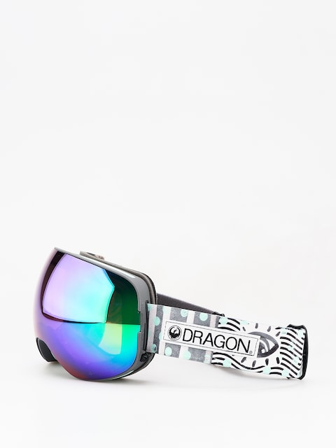 Brýle na snowboard Dragon X2 (new wave/lumalens green ion/lumalens amber)