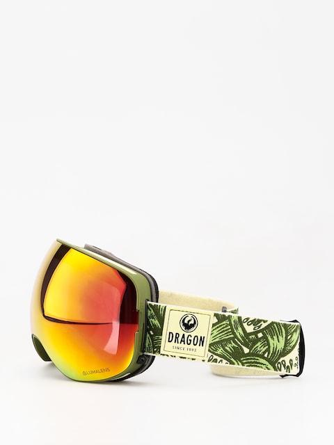 Brýle na snowboard Dragon X2 (plex/lumalens red ion/lumalens yellow)