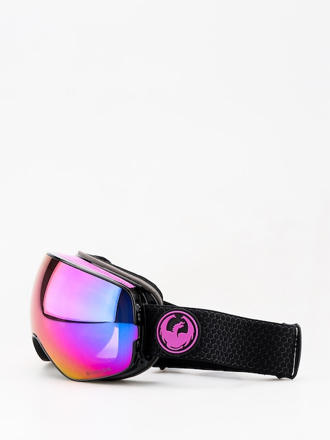 Brýle na snowboard Dragon X2s (split/lumalens purple ion/lumalens amber)
