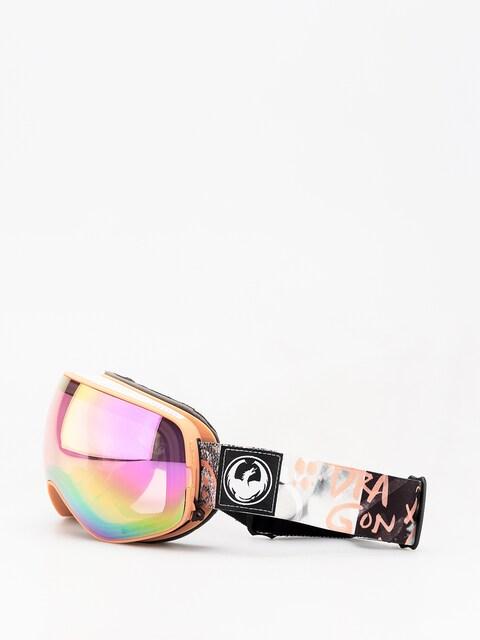 Brýle na snowboard Dragon X2s (flaunt/lumalens pink ion/dark smoke)
