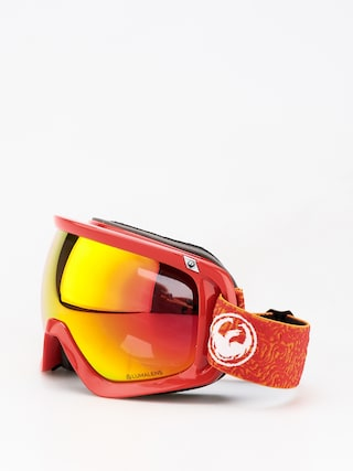 Brýle na snowboard Dragon D3 (maze/lumalens red ion/lumalens rose)