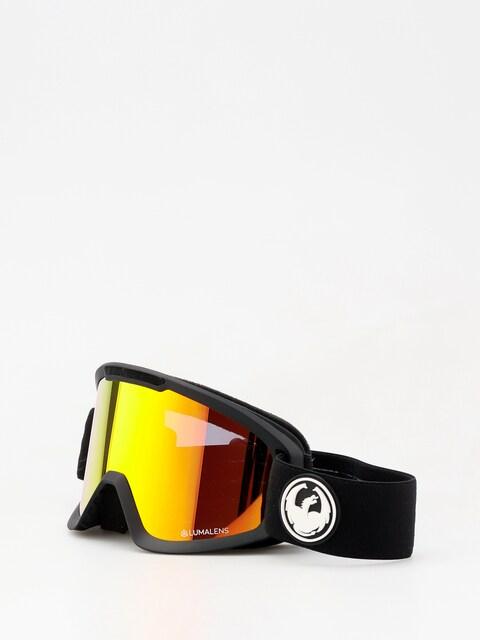 Brýle na snowboard Dragon DX2 (black/lumalens red ion/l rose)