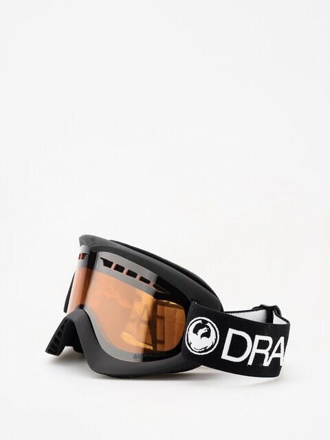Brýle na snowboard Dragon DX (black/lumalens silver ion)