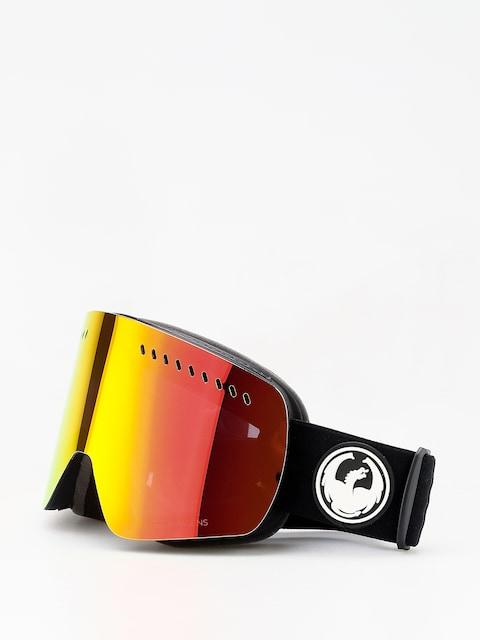 Brýle na snowboard Dragon NFXs (black/lumalens red ion/l rose)