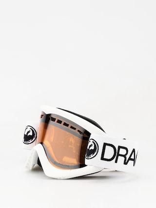 Brýle na snowboard Dragon DXS (white/lumalens silver ion)