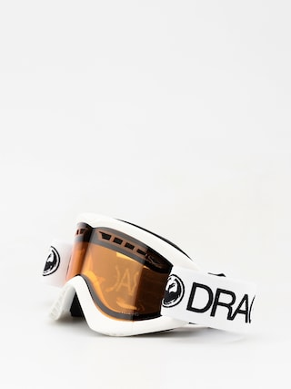 Bru00fdle na snowboard Dragon DXS (white/lumalens amber)
